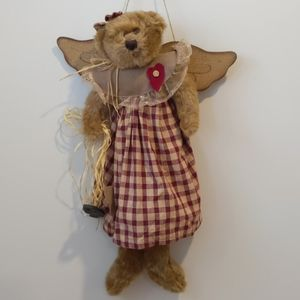 Vintage looking plush bear